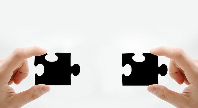 2 puzzelstukken op pagina coach nodig voor kickstart of bijspijkeren